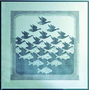Escher: Uccelli